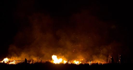 Aghadowey fire